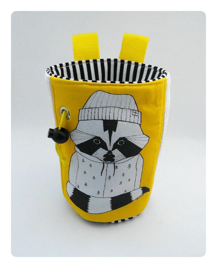 custom chalk bag hand made