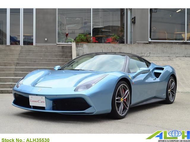 8953 Japan Used Ferrari 488 Gtb Sports Car Coupe For Sale Auto