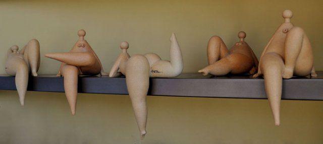 athens greece modern figure sculpture contemporary