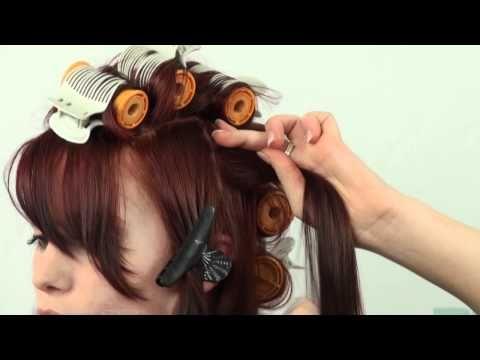 Hoe gebruik je hot rollers voor krullen | www.thehairguru.com