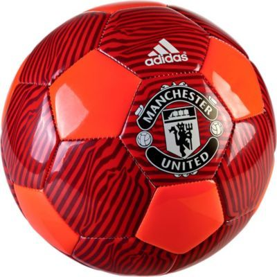 adidas Manchester United Soccer Ball. On sale at www.soccerpro.com today!