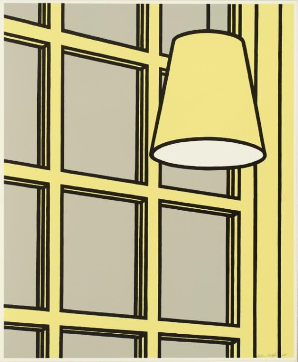 Patrick Caulfield 'Interior: Morning', 1970–1 © The estate of Patrick Caulfield. All Rights Reserved, DACS 2016