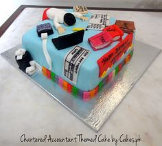 Special Cake for Chartered Accountant   Cakes.pk