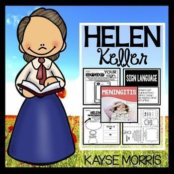 23 best helen keller unit images on pinterest helen keller helen keller to teach womens history month teach students writing close reading vocabulary crafts and more with this unit this helen keller unit will fandeluxe Ebook collections