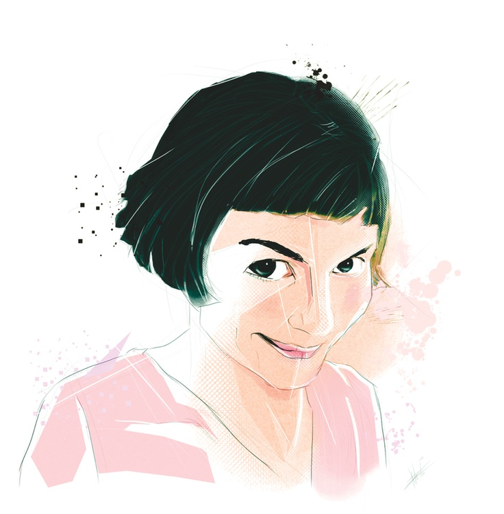 Amélie illustrated