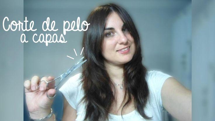 💇 Corte de pelo a capas + Flequillo abierto y desfilado | Aprende a cort...