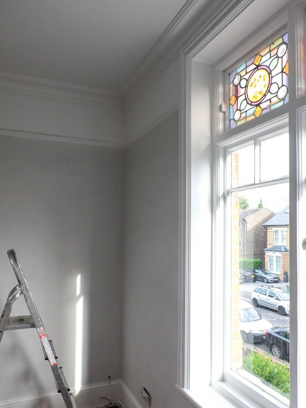 Updating The Flat With Colour Valspar Gray Paint