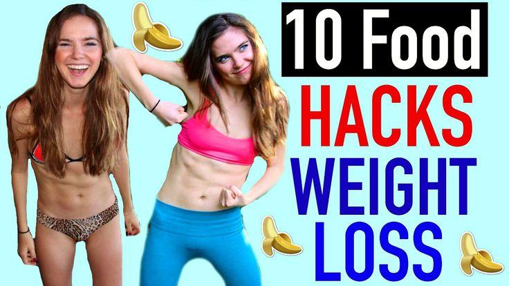 10 Food Hacks For WEIGHT LOSS - VEGAN | NinaAndRanda
