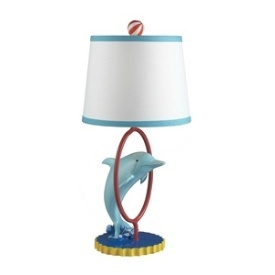 One Light Table Lamp Dolphin Kidsdecor
