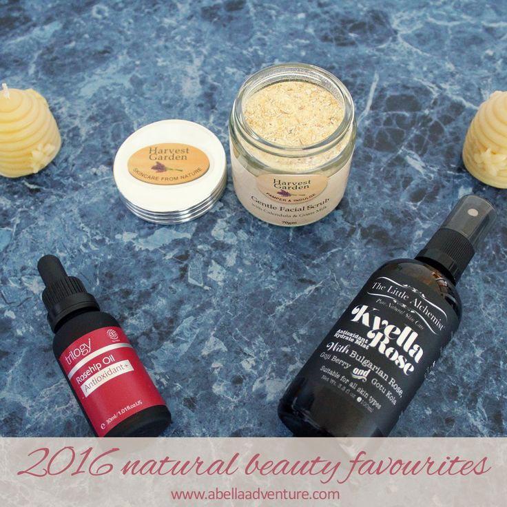 January & February 2016 Natural Beauty Favourites