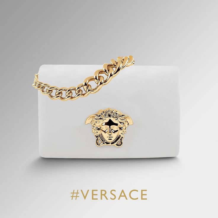 Pure sophistication. Find more about the #VersacePalazzo bags on versace.com