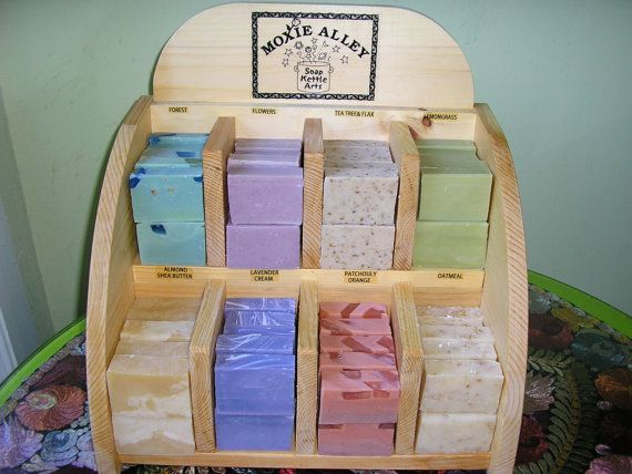 WHOLESALE SOAPS & DISPLAY by moxiealleysoaps on Etsy, $290.00
