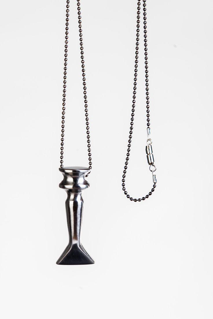 Design house jewelry - Necklace Kliv By Darja Popolitova Eesti Disaini Maja Estonian Design House Jewelry Collection