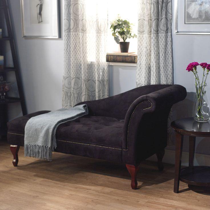 Cozy Chaise lounge setup Add shelf under window sill