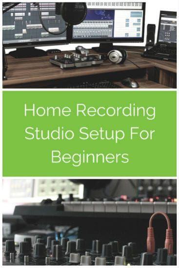 home recording studio setup for beginners