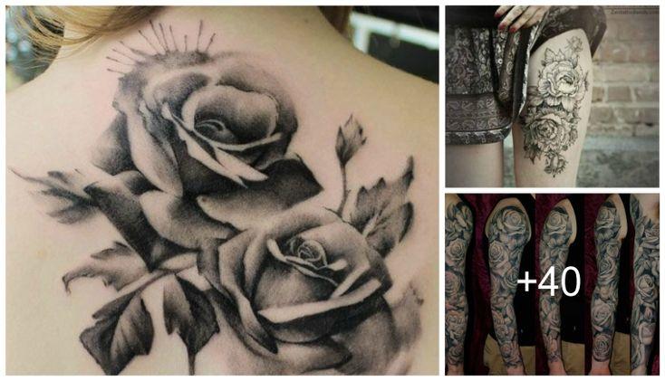 Diseños de Tatuajes de Rosas Los tatuajes de Rosas son uno de los tatuajes preferidos por las mujeres, las rosas o flores son una de las plantas mas hermosas en el mundo y normalmente se utilizan para alagar a las mujeres en algún dia especial. La rosas rojas principalmente están relacionada