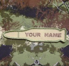 GOT A BULLET WITH YOUR NAME ON IT TACTICAL MORALE MILSPEC MULTICAM VELCRO PATCH