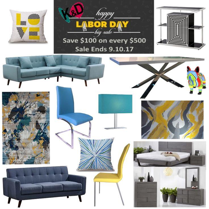 Best Labor Day Furniture Sales: 30 Best K&D Promotions Images On Pinterest