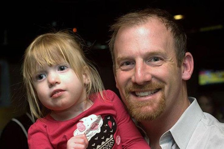 Red Sox pitcher Ryan Dempster and his daughter Riley. Ryan started the Dempster Family Foundation to help families dealing with 22q11.q deletion syndrome.
