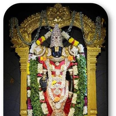 Today's Darshan (22-01-13) Lord Balaji @ISKCONPune