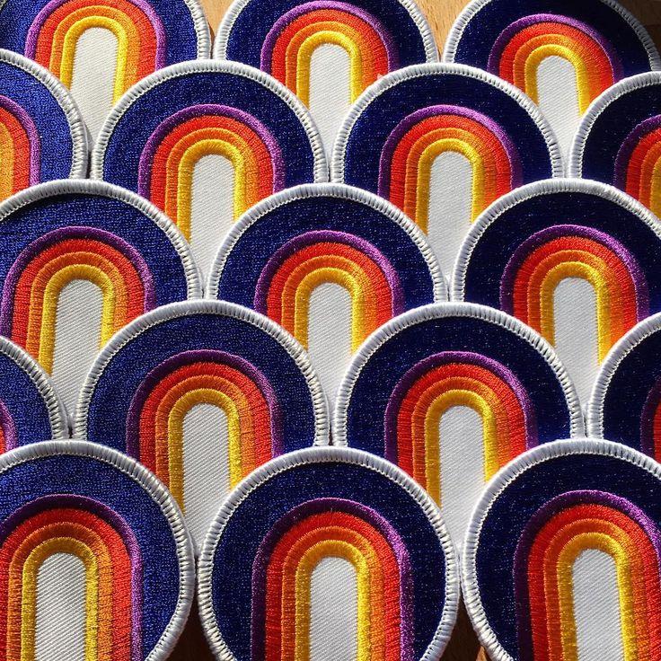 Rainbow patches // circa78designs.com