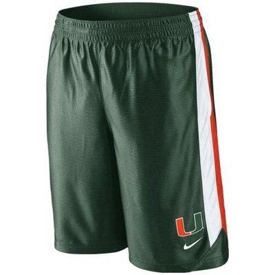 Nike Miami Hurricanes Basketball Tourney 3 Shorts