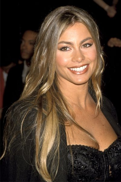 Sofia Vergana Natural Hair Color Sofia Vergara Sofia