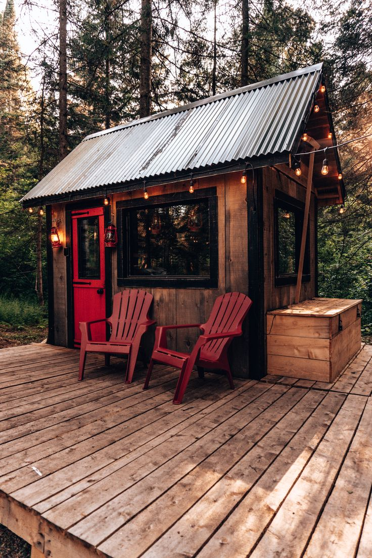 Micro cabin located in Mont Tremblant, Quebec, Can…