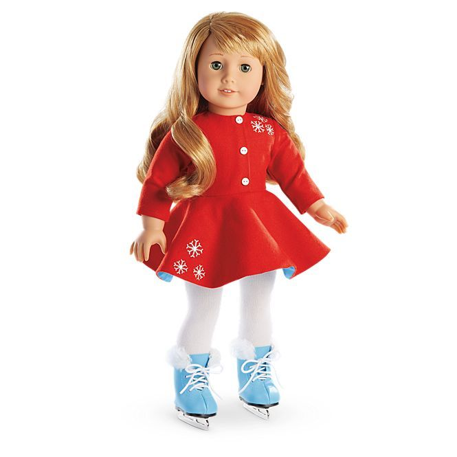 American Girl Maryellen's Ice Skating Outfit for 18-inch Dolls