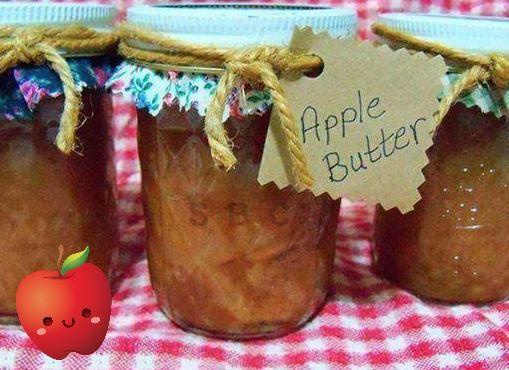 Sooooo much better than the store bought apple butter!!!!   CROCK POT APPLE BUTTER