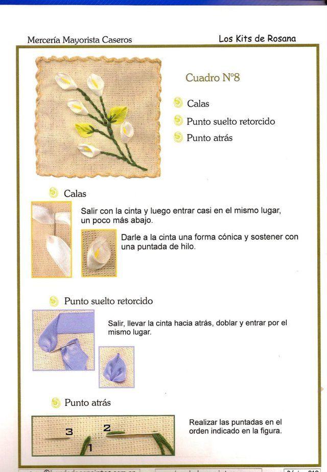 si os interesa este tutorial picar en el siguiente enlace descargar bordado con cintas: figuras básicas