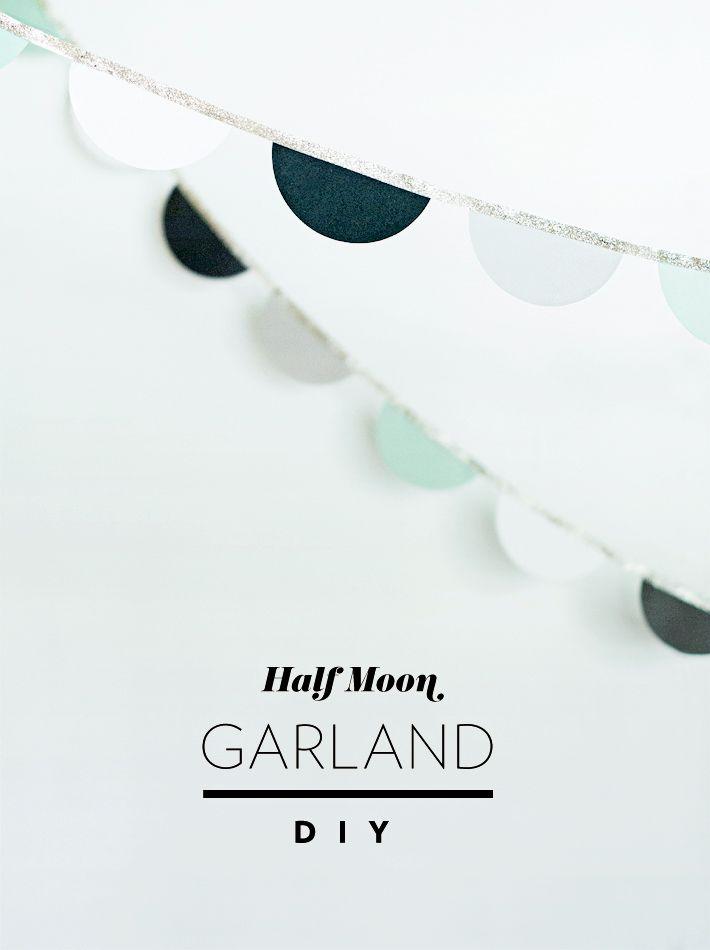 Half Moon Garland DIY Mara Dawn