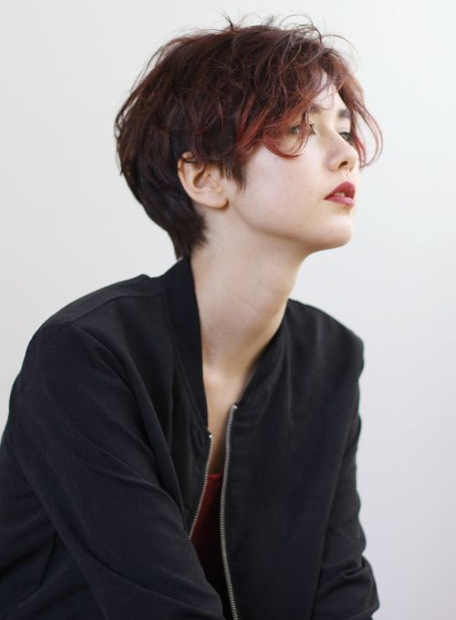 【ショートヘア】2ブロックショート/Of HAIR GINZAの髪型・ヘアスタイル・ヘアカタログ|2016春夏