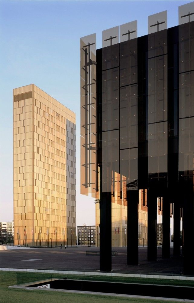 Court of Justice of the European Communities / Dominique Perrault Court of Justice / Dominique Perrault (18) – ArchDaily
