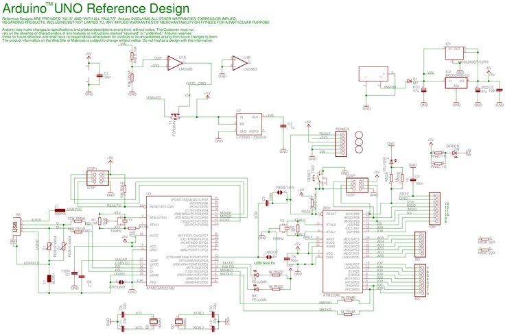 Arduino uno reference design pinterest