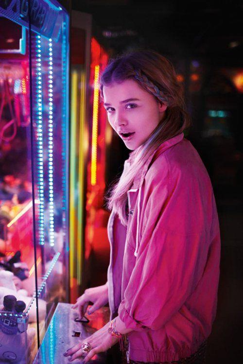 Chloe Moretz photographed by Alex Sainsbury