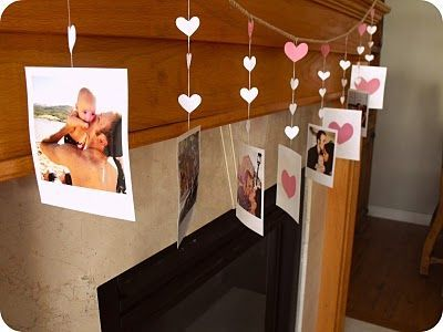 So Cute. Valentine DIY. Use your photos and make this garland super special: So Cute. Valentine DIY. Use your photos and make this garland super special