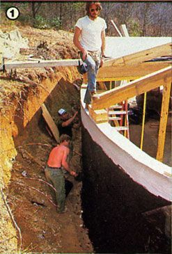 Building an Earth-Sheltered Home: Part III - Green Homes - MOTHER EARTH NEWS