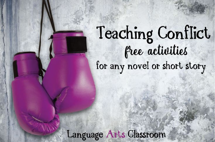Teaching conflict - free activities to use with any novel or short story.