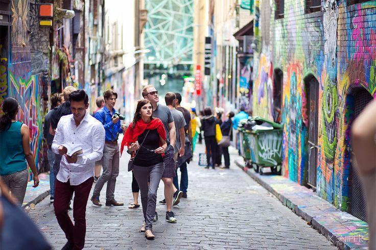 Hosier lane @ Melbourne City