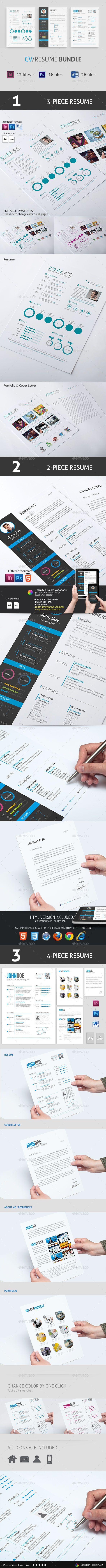 50 best cv resume images on pinterest creative resume design