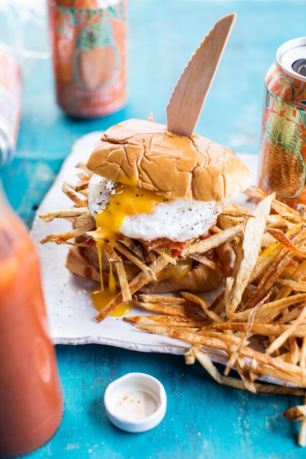 The Cuban Frita Burger | halfbakedharvest.com @hbharvest