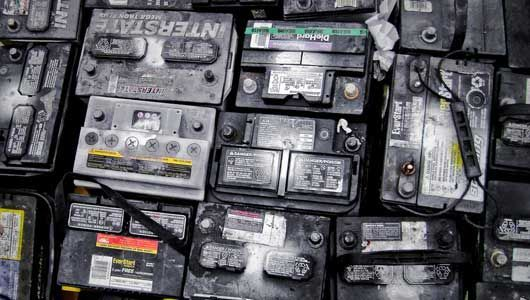 You're better off recycling batteries than putting them in a landfill.