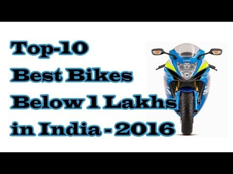 Top 10 Best Bikes Below 1 Lakhs in
