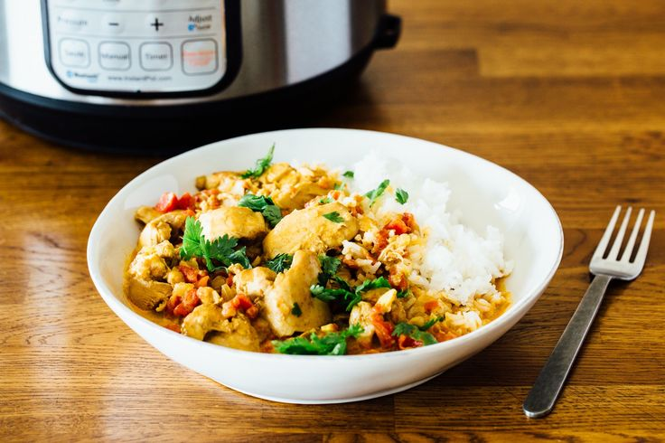 There's no need to order chicken tikka masala takeout when you can make it lightning-fast in the pressure cooker.