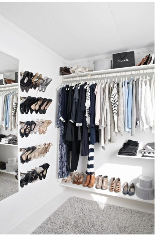 love the closet shoe rack