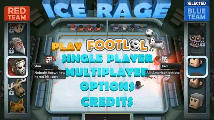 #1 Sports Game on smartphone in the US and 70 other countries. Over 2 million players! Players face off across a ice rink in a hockey duel  one player and one keeper one each side. Play is rapid and rough with players spending as much time eating the ice as on their feet. There are three different single player modes (Tournament Quick Match and Deathmatch) and a single-device multiplayer. There are also tons of unique characters to choose from such as lightning fast Antero or heavy-hitting…