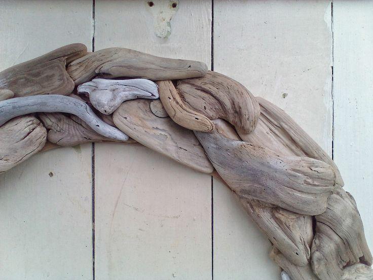 69 best garden deck stuff images on pinterest backyard for Driftwood wall decor