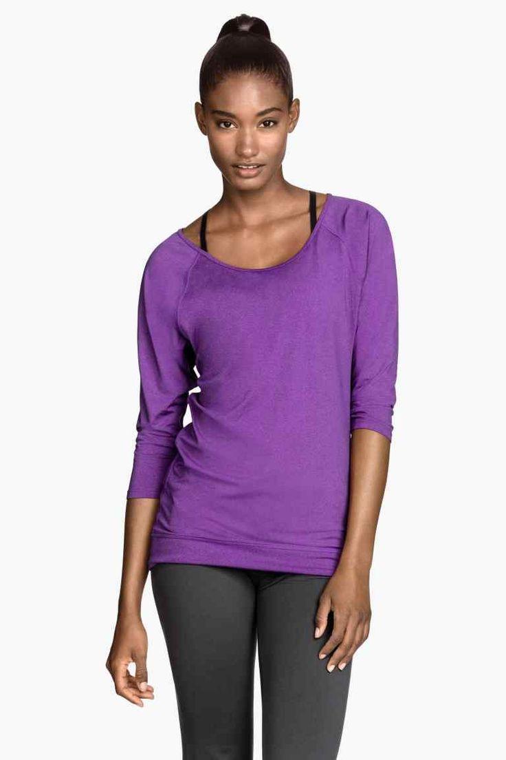 Camiseta de yoga | H&M 15€