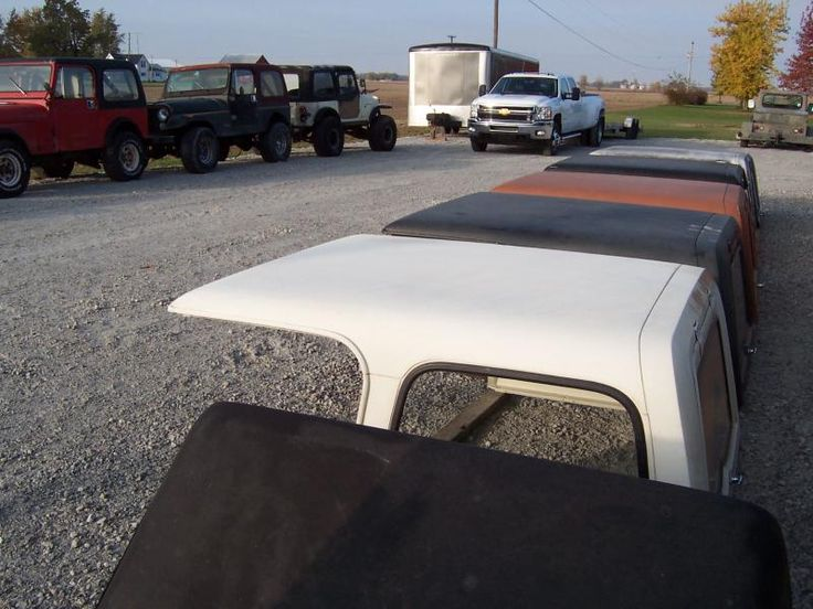 Rudy's Classic Jeeps LLC - Jeep CJ7 HARD DOORS & Jeep CJ-7 HARD TOP (s)FOR SALEJEEP CJ7 HARDTOPS & HATCHES!Easy to ship doors and hatches. (Tops move w significant expense)Pictures taken 10-30-13